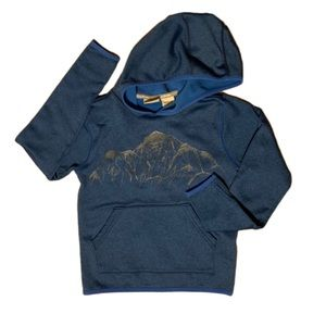 LL Bean Blue Mountains Hooded Sweatshirt - M (5/6)